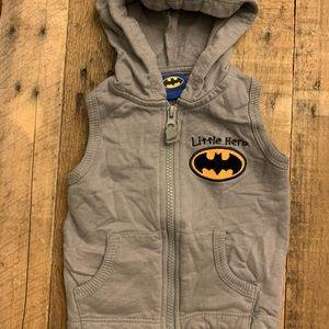Bat man vest 24 mo.